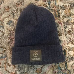 Timberland blue winter hat
